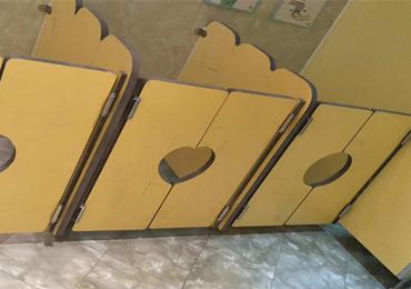 幼儿园通用卫生间隔断